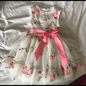 3T Toddler Formal Spring Summer Dress